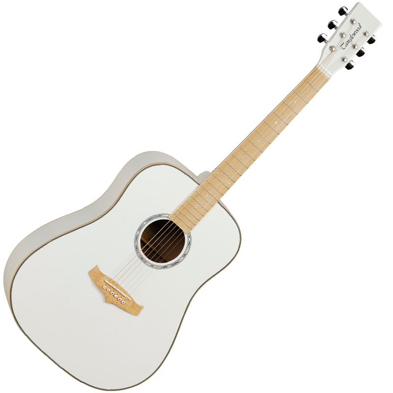 White Acoustic Guitars on oscar schmidt website
