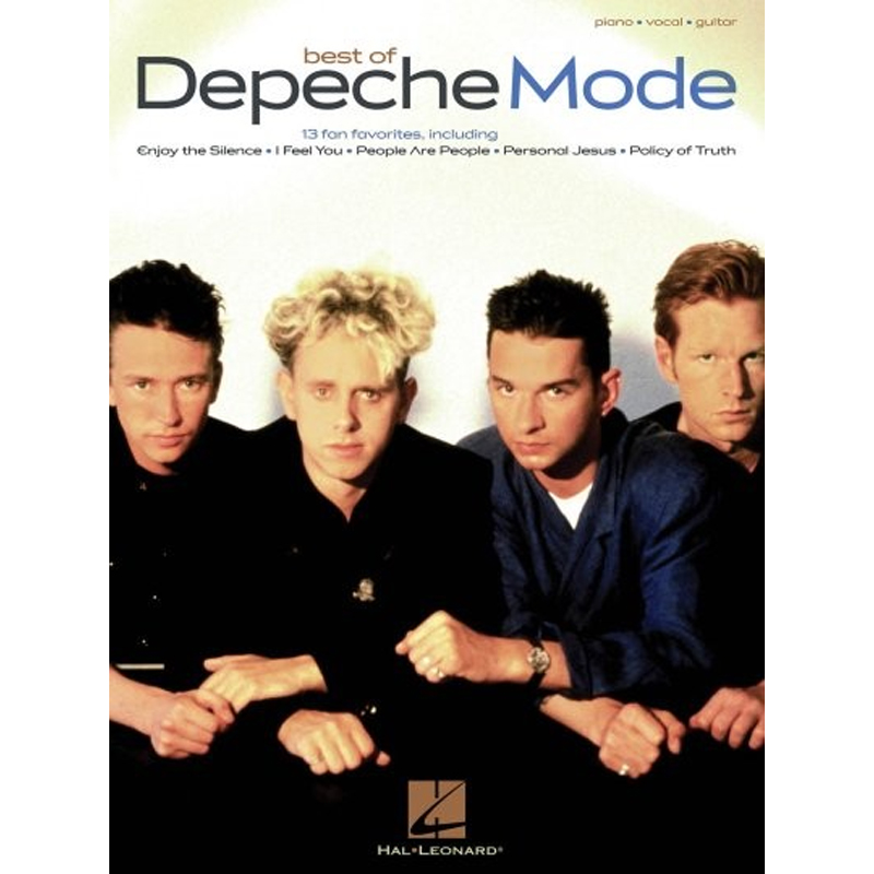 Depeche Mode Best Of Piano Vocal Guitar Music Box The