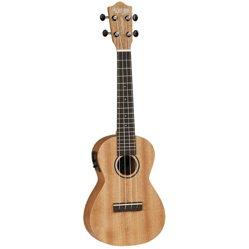 Tanglewood Tu3eq Electro Acoustic Concert Ukulele Music