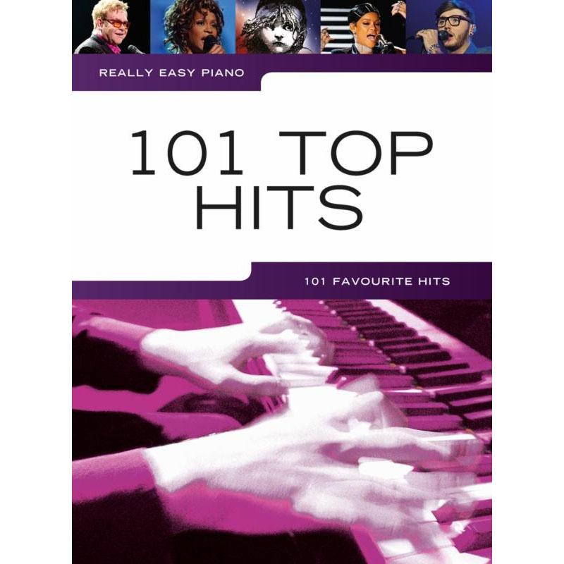 Abba Piano Sheet Music Easy: 101 Top Hits: 101 Favourite Hits (Really Easy Piano