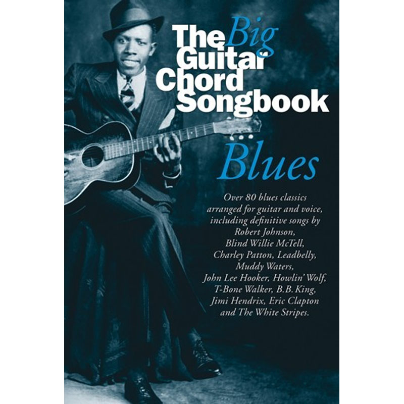 Big Guitar Chord Songbook Blues Lyrics Chords Music Box The