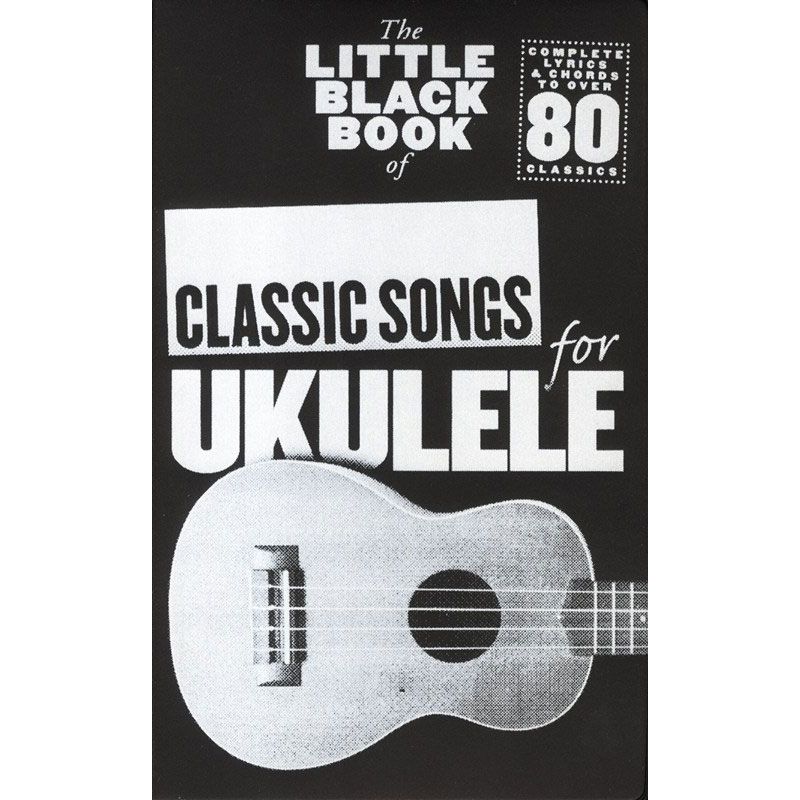 The Little Black Songbook Classic Songs Ukulele Music Box The