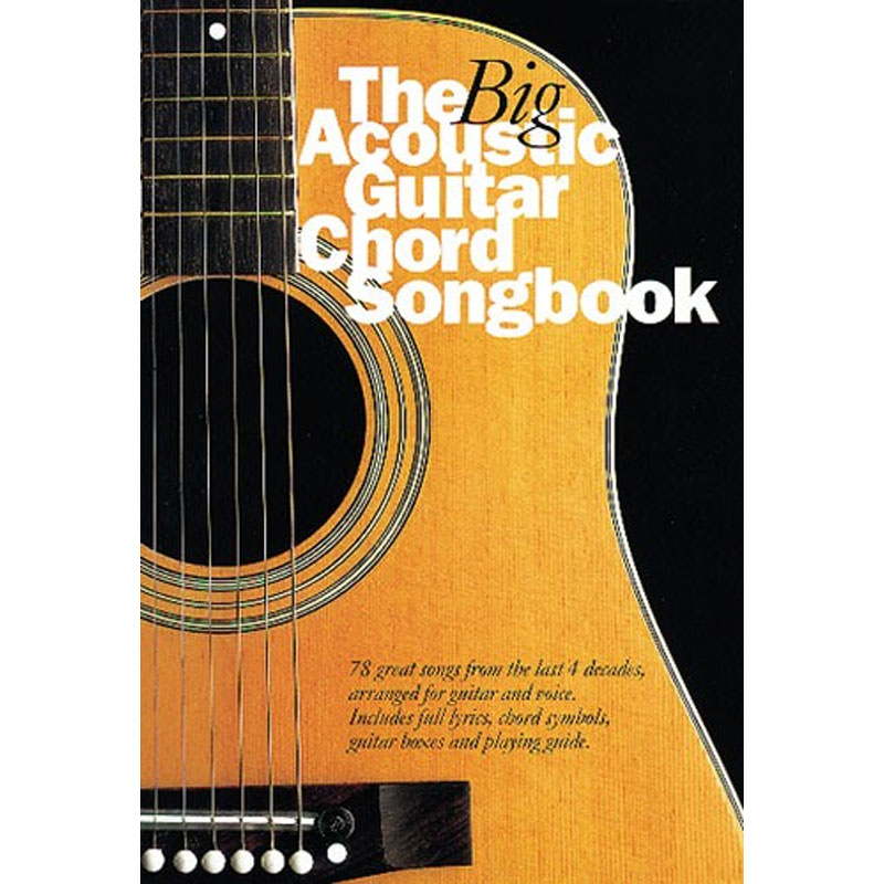 The Big Acoustic Guitar Chord Songbook Music Box The Musical