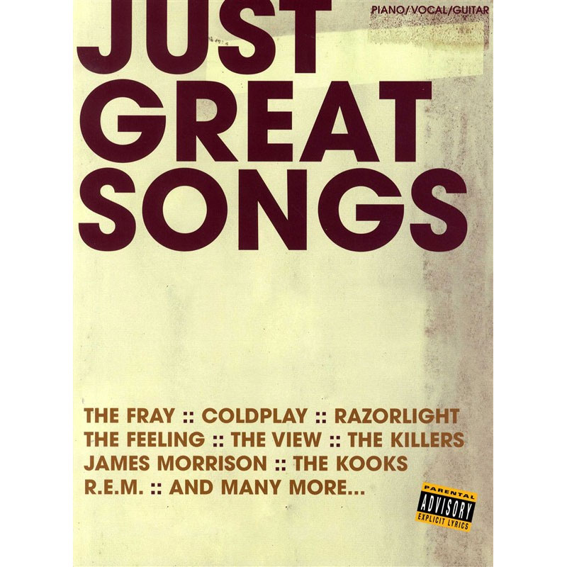 JUST GREAT SONGS (PVG)