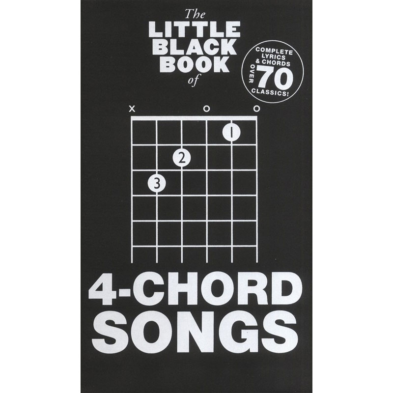The Little Black Songbook 4 Chord Songs Guitar Vocals Music