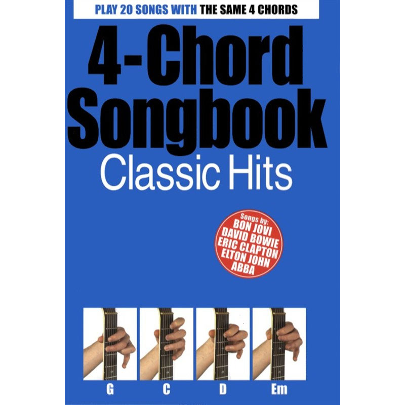 4 Chord Songbook Classic Hits Guitar Music Box The Musical