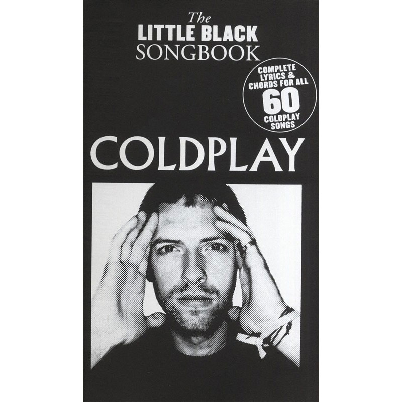 The Little Black Songbook Coldplay Lyrics Chords Music Box