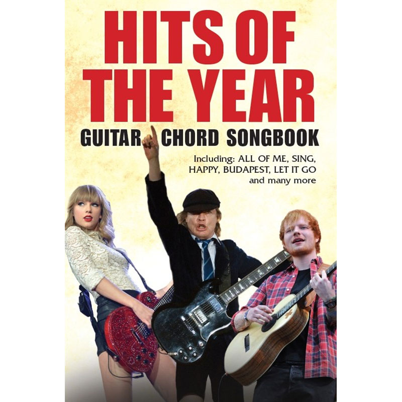 Hits Of The Year Guitar Chord Songbook Music Box The Musical