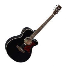 Tanglewood Winterleaf TW4 BK Electro-Acoustic Guitar - Black Gloss