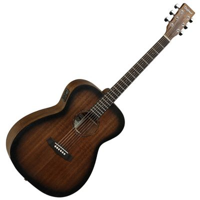 Tanglewood Crossroads TWCROE Electro-Acoustic Guitar - Whiskey Barrel Burst Satin