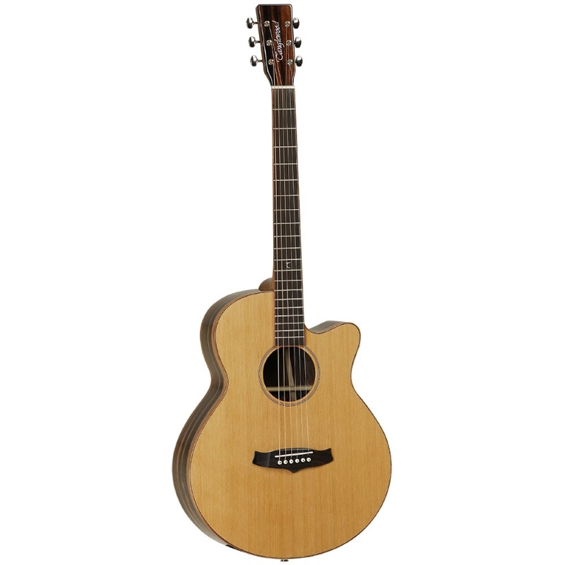 Tanglewood twjsf ce electro acoustic guitar music box for The tanglewood