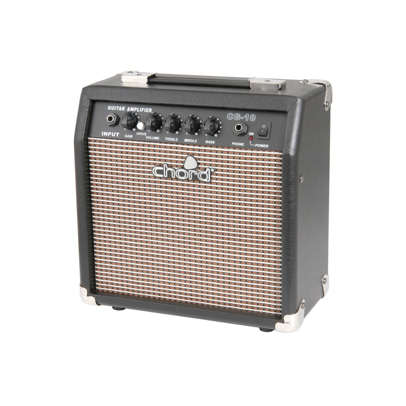 chord cg 10 electric guitar amplifier 10 watts music box the musical instrument store. Black Bedroom Furniture Sets. Home Design Ideas