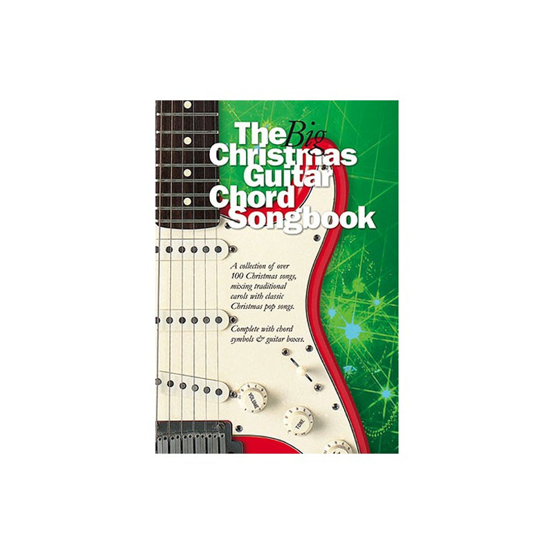 The Big Christmas Guitar Chord Songbook Music Box The Musical