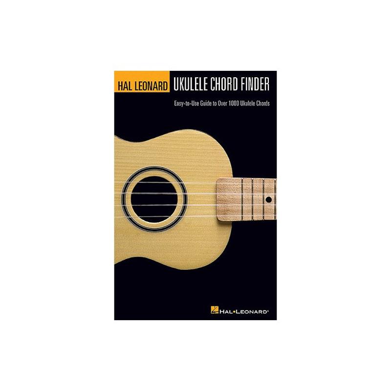 Hal Leonard Ukulele Chord Finder A5 Edition Music Box The